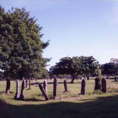 Early Morning Shadows at Westoe Cemetery