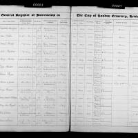 Burial Register 52 - December 1896 to January 1898