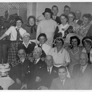 Grenoside Pensioners Committee Christmas Party c1956 6