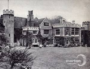 Garden at the Old Rectory, Wimbledon
