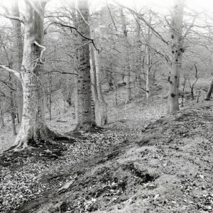 Brobury Brobury Scar entrenchments, 1926