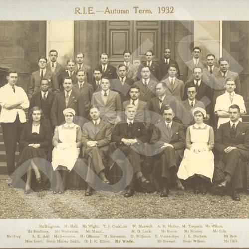 RIE Autumn Session, 1932