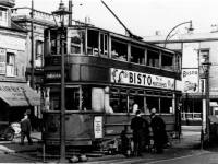 Trams,  Merton Changing Pit, Longley Road