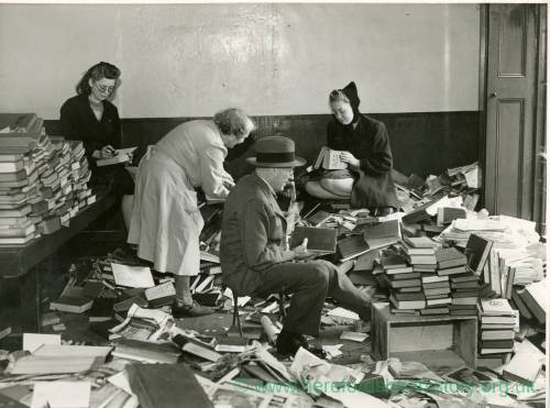 Book Sale, Herefordshire, 1943