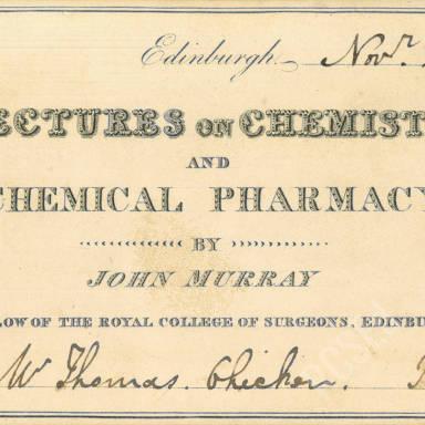 Chemistry & Chemical Pharmacy