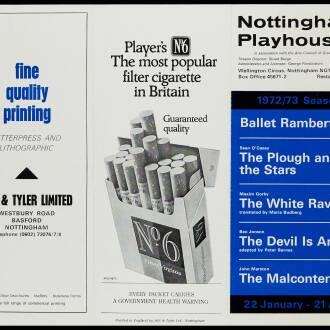 Nottingham Playhouse, January 1973