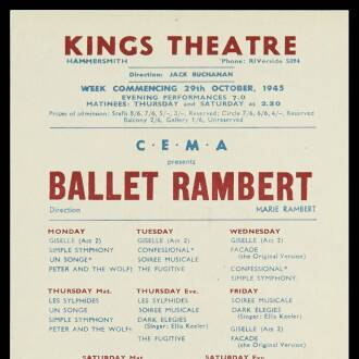 King's Theatre, Hammersmith
