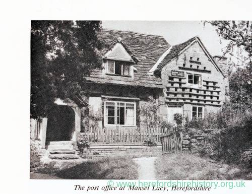 The Old Post Office, Mansel Lacy