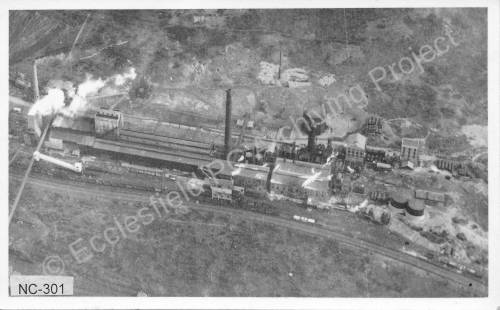 Aerial View of Thorncliffe Works, possibly of Chemical Site.