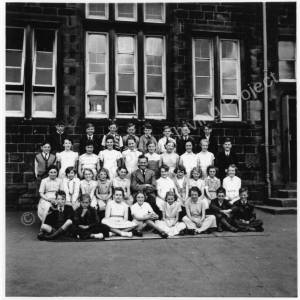 High Green Primary School class 1950's.