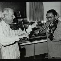 Stephane Grappelli and Claude 'Fiddler' Williams