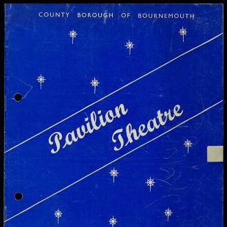 Pavilion Theatre, Bournemouth, June 1964
