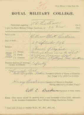 RMC Form 18A Personal Detail Sheets Jan 1915 Intake - page 18