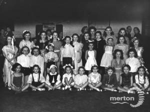 Children's party staged by the Morden Ward Labour Party