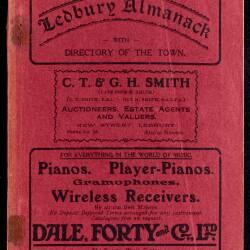 Tilley's Ledbury Almanack 1936