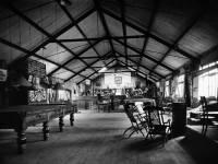 YMCA hut interior, military camp on Wimbledon Common