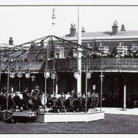 Bandstand, Southport, 1900s