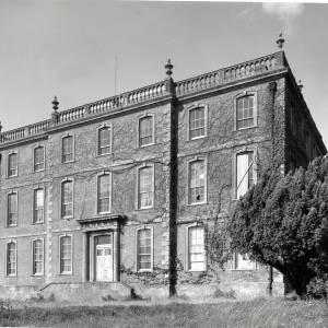 Aramstone House, exterior, 1956
