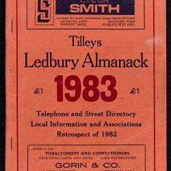 Tilley's Ledbury Almanack 1983
