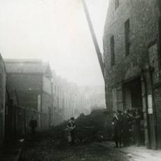 World War II bomb damage to Coronation Street.