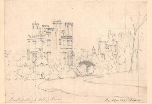 Buckfast Abbey, c1825, Buckfastleigh, Devon