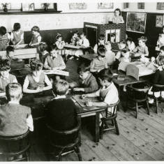 Children in Classroom, Hebburn