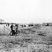 Aviation joy rides on Waterloo shore