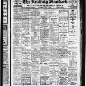 Reading Standard Etc 07-1917