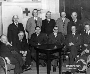 A reunion of the Mitcham Home Guard