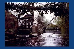Liberty Print Works: Waterwheel
