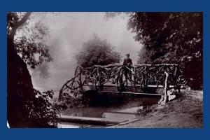 The bridge, Wandle Park, Colliers Wood