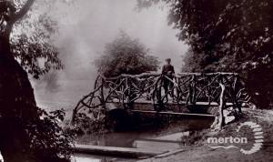 The bridge, Wandle Park, Colliers Wood