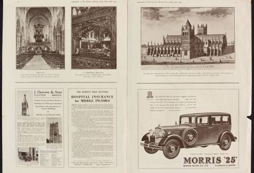 Western Morning News supplement, June 24th 1933, pages 6 & 7