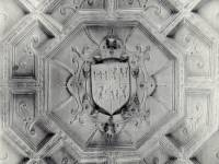 Eagle House, Wimbledon: Moulded ceiling in the library