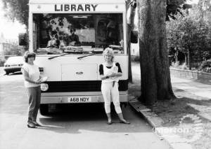 Merton and Morden Mobile Library.