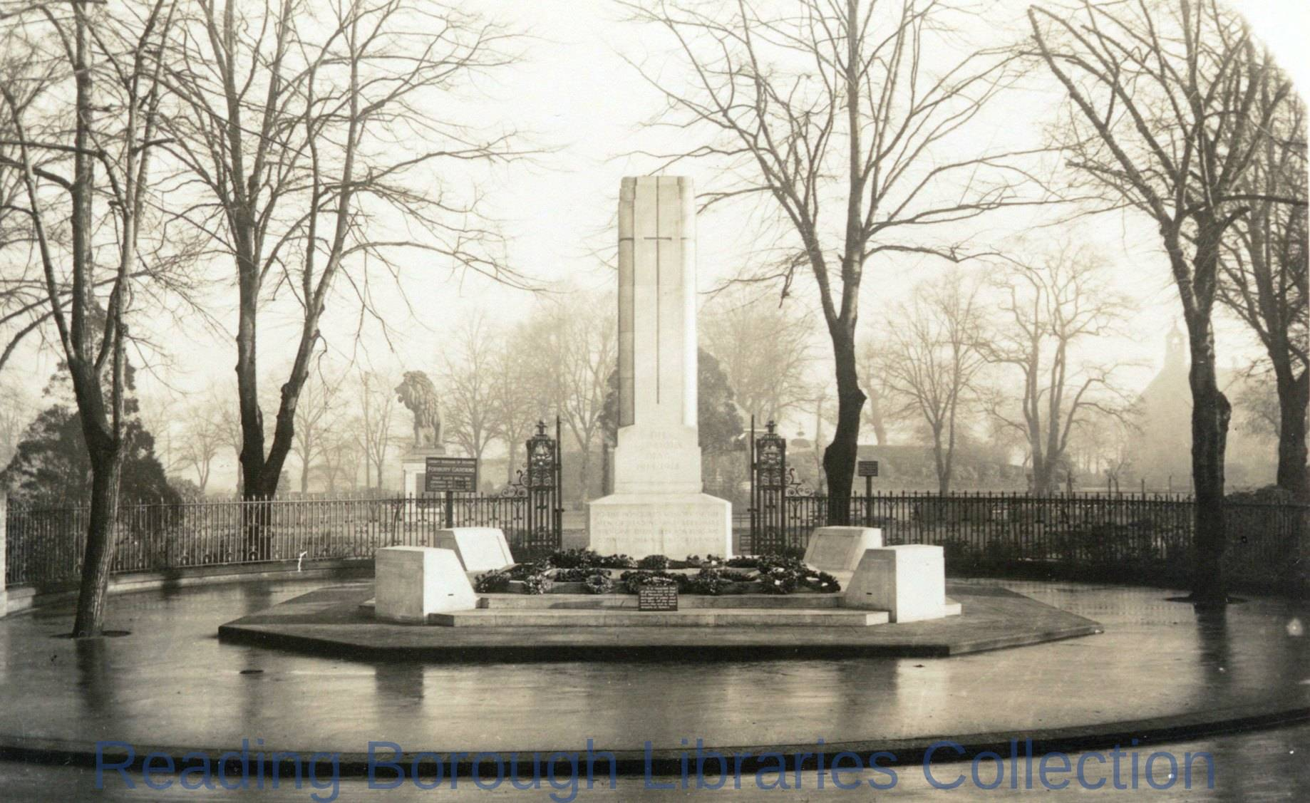 Cenotaph, The Forbury, Reading.