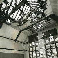 Bedford Road School, bomb damage, Blitz