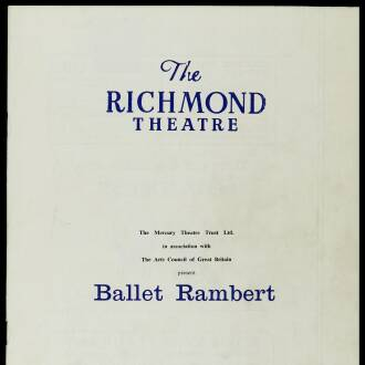 Richmond Theatre, London, February 1964 - P02