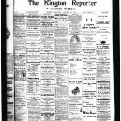 Kington Reporter - 1914