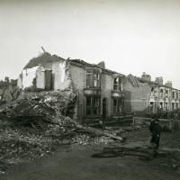Carolina Street, bomb damage, Blitz
