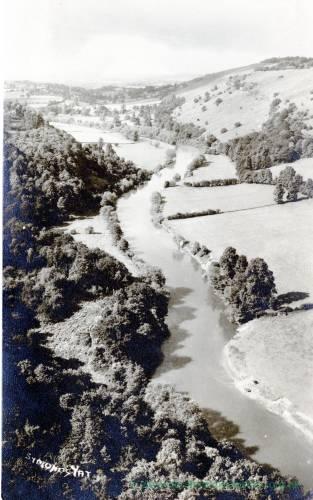 Symonds Yat, view of river Wye