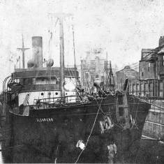 Collier, SS Glen Park in Brigham's Dock
