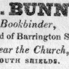B Bunn, Bookbinder