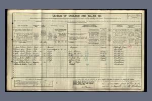 1911 census Granville Road