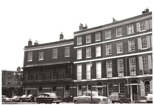 Barnfield Crescent, Heavitree Road, c1960 Exeter