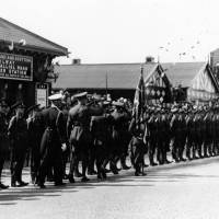 Guard of Honour for King George VI and the Queen Elizabeth, Bootle, May 1938
