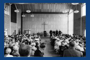 Dedication of Methodist Church, Cricket Green, Mitcham