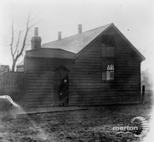 Weatherboarded mission or temperance hall