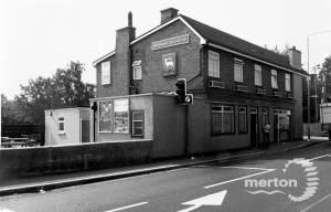 Kingston Road, The White Hart,  Merton Park