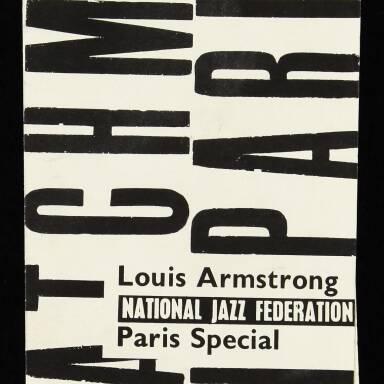 Louis Armstrong Brochure
